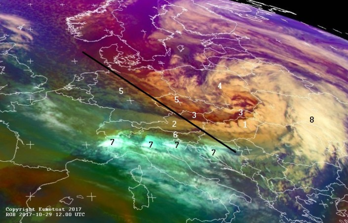satellitenbildanalyse